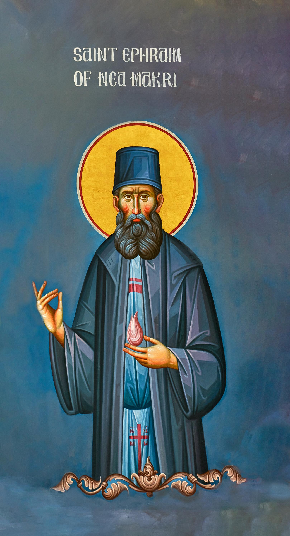 St Ephraim of Nea Makri