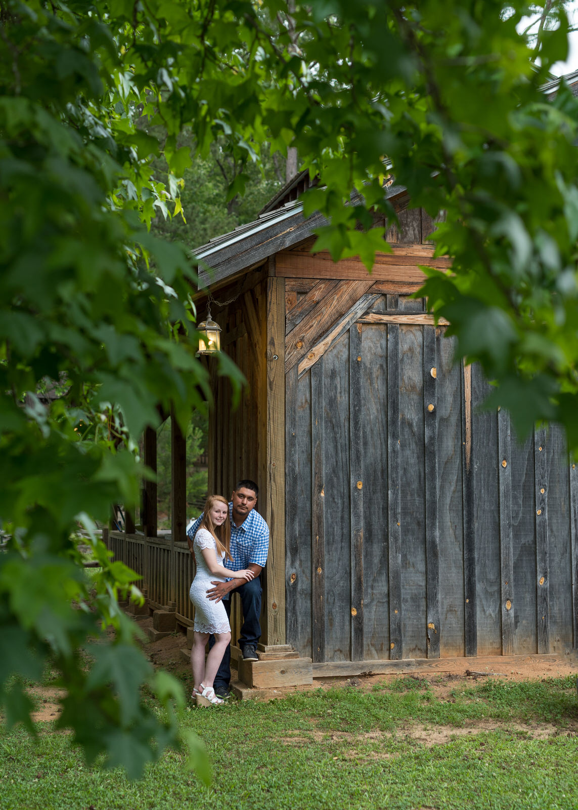 Cartersville Georgia engagement photography