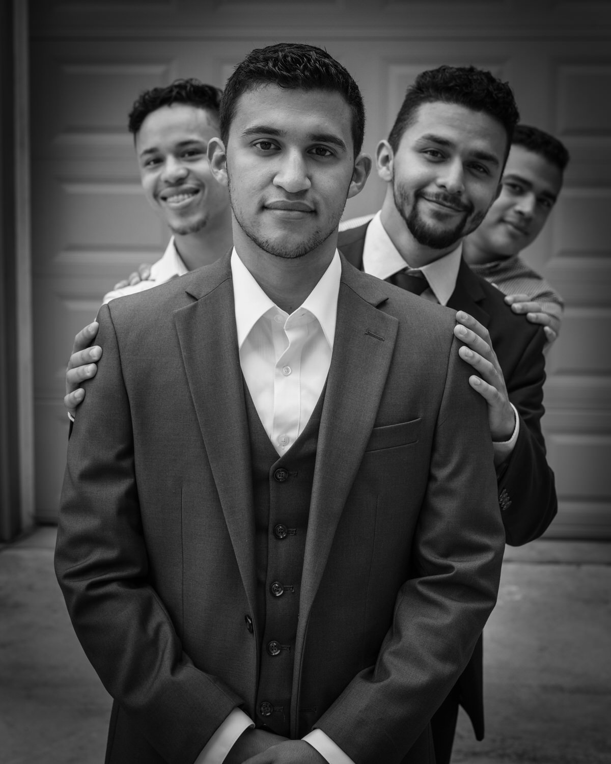 Kennesaw GA Fun Groomsman Photograph