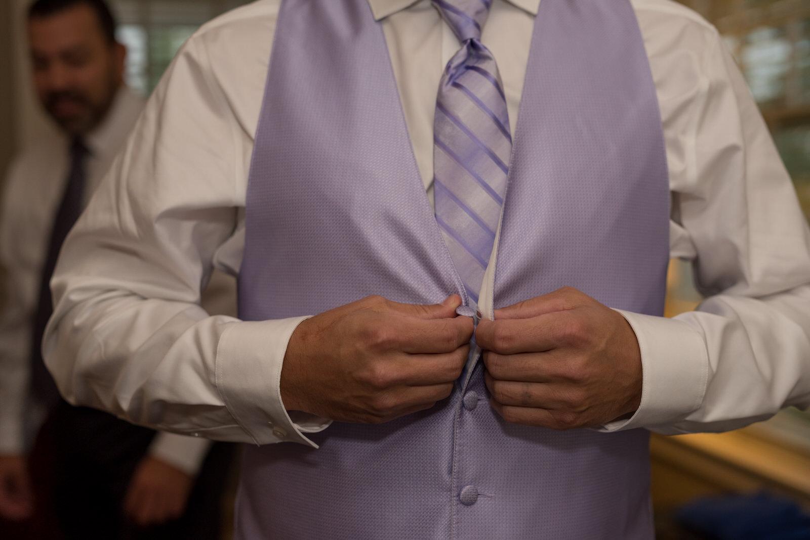 Groom Tuxedo Vest