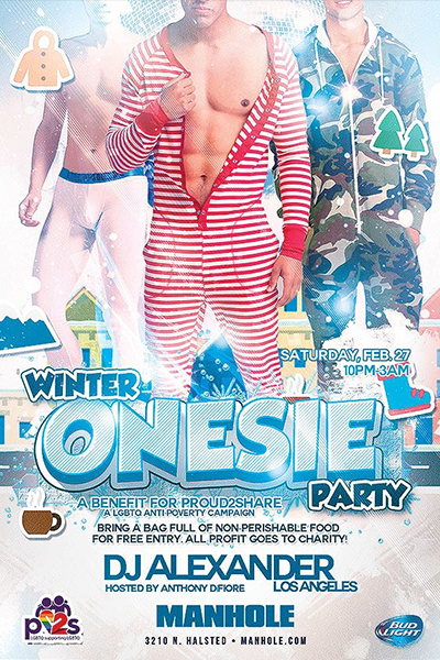 Winter Onesie Party