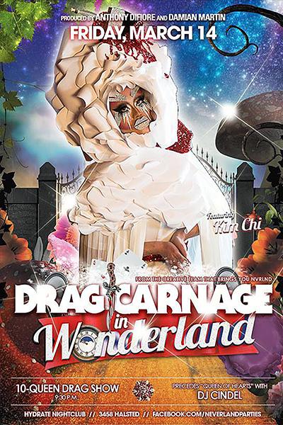 Drag Carnage in Wonderland