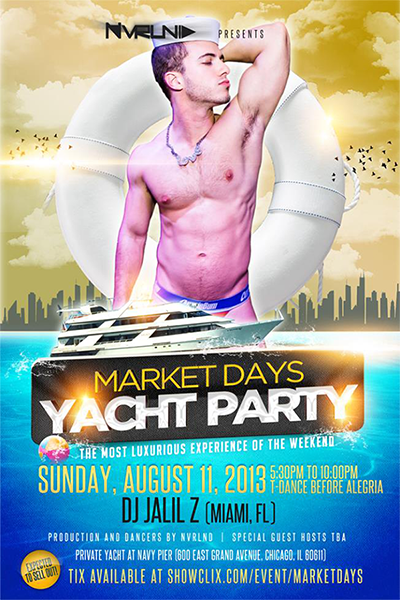 Market Days Yacht Party