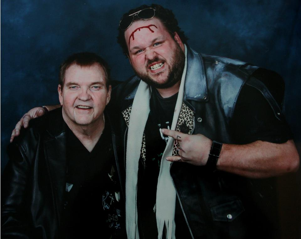 EDDIE FROM THE KOA WITH THE LEGEND HIMSELF, MEATLOAF!
