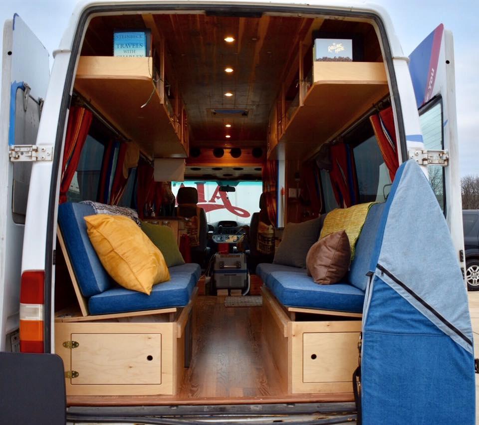 Converted Sprinter Van