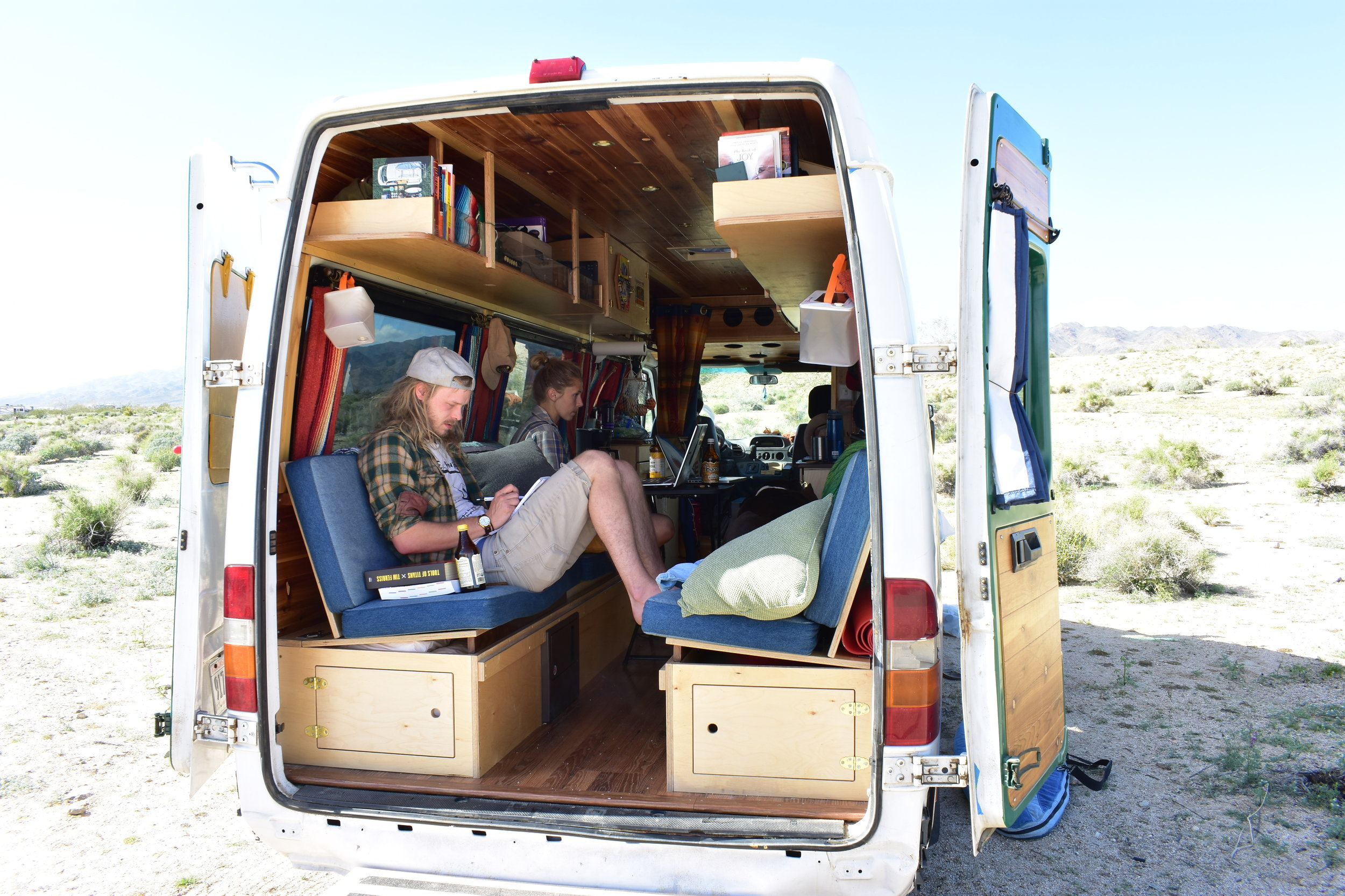 We stayed outside Joshua Tree NP for three weeks. We wrote our entire eBook there! Thanks J Tree, we owe you one.