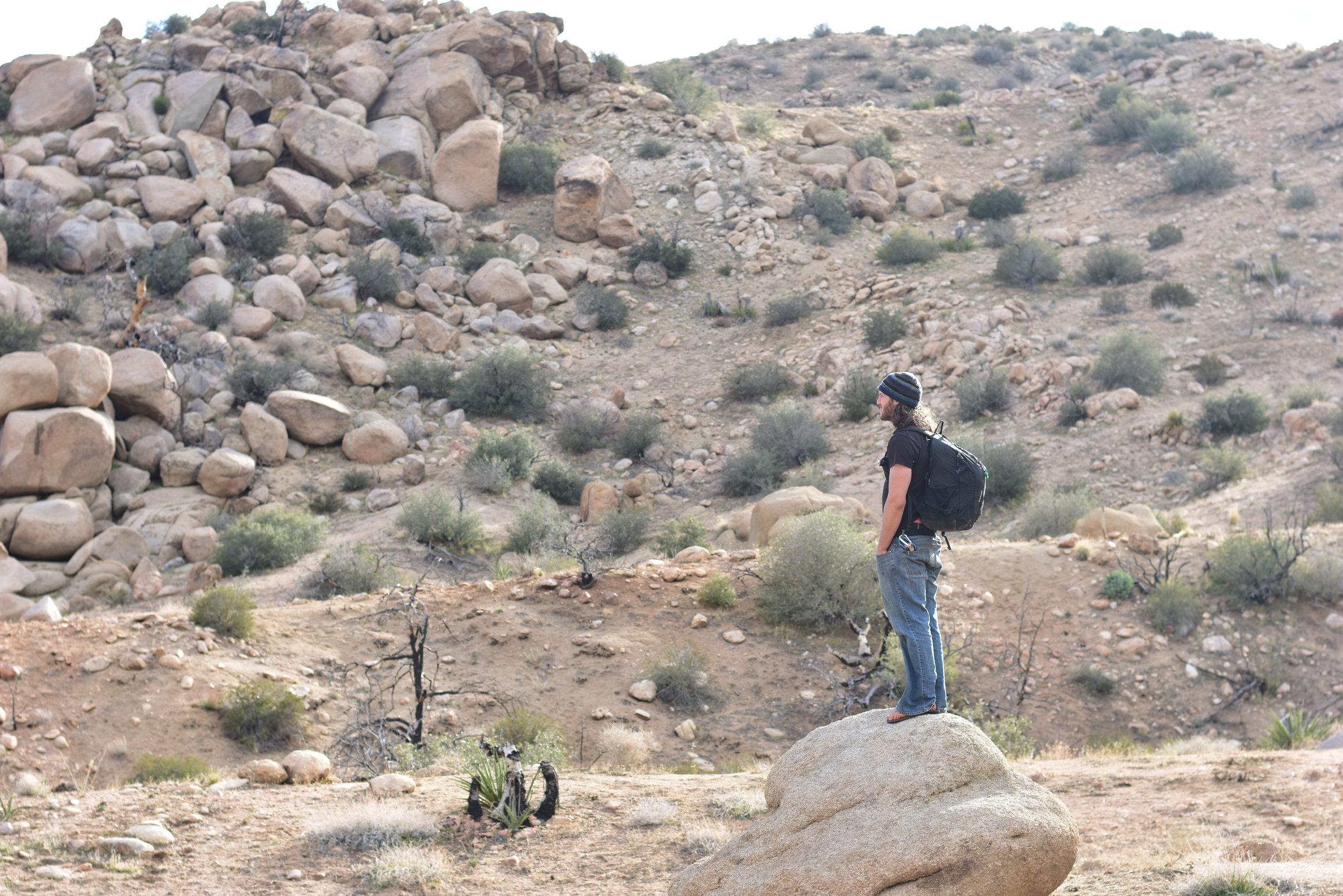 @dylanmagaster at Garth's Boulders
