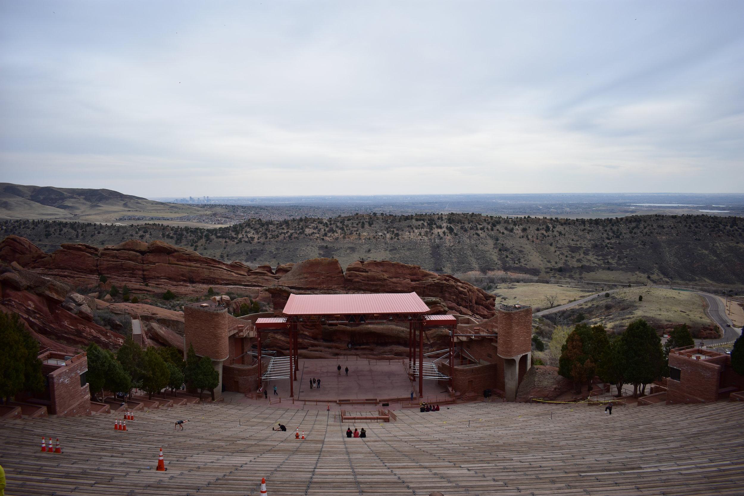 Red Rocks Amphitheater - Denver