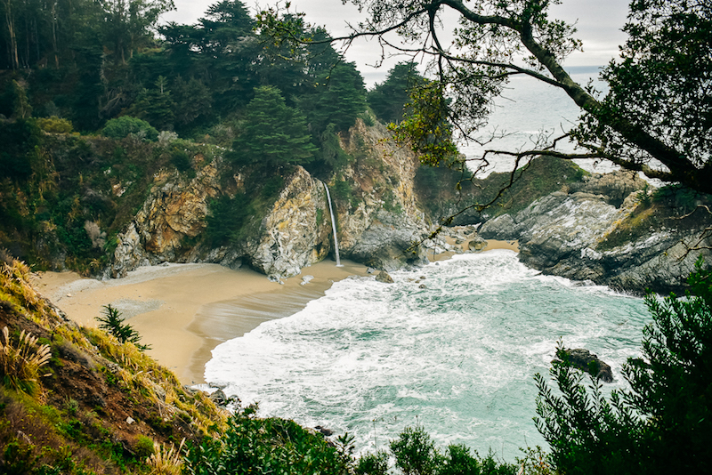 McWay Falls. The photo taken after the lecture.