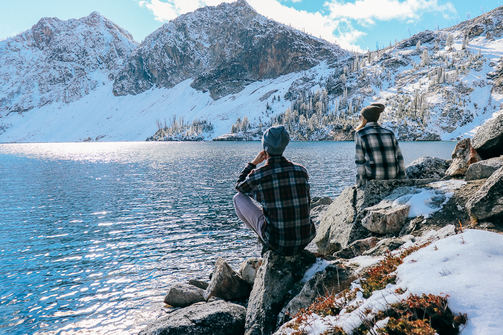 Epic hike to Sawtooth Lake in Idaho - Duluth Trading Flannels