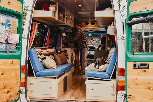 Sonder has been hibernating... but the weather is warming up here in the Midwest and he's just about ready to roll out of the shop and stretch his legs! He's gearing up to take us on some weekend adventures 🚐💨 . #vanlife #backontheroad #sprintervan #campervan #midwest #homeonwheels #vanlifediaries