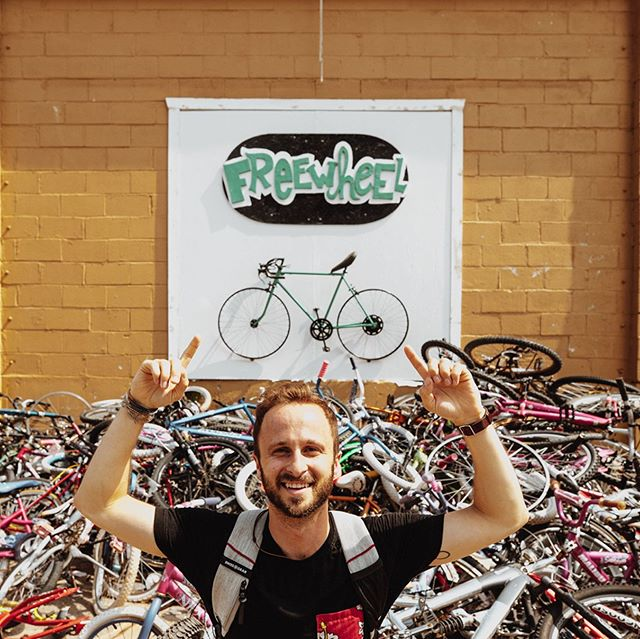 Want to help an awesome charitable organization donate thousands more bikes to people in need around the world?! @freewheelbikes is up for an award that will allow them to spread their cause on a greater level. All you have to do to support them is follow the link in our bio and simply vote! We'd really appreciate it if you took 30 seconds out of your day to spread some positivity and give people in need the opportunity to gain access to transportation. You can vote once a day until Thursday 🙏  Link in bio! . 📸: @scotifystudios . . #alwaystheroad #spreadingpositivity #freewheelbikes #goodcauses #donations #vanlife #charity #bikesforeveryone #bikes #bicycles
