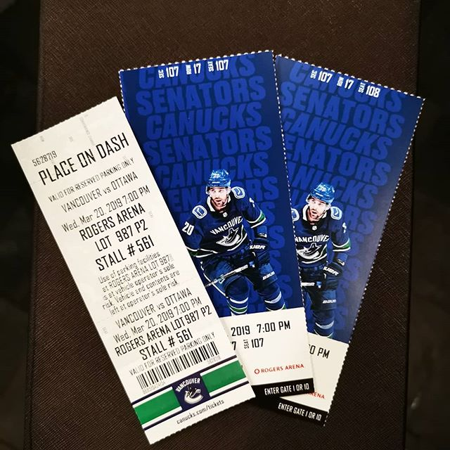 CANUCKS TICKETS GIVEAWAY  We are giving away 2 Canucks tickets (Row 17, Seats 107&108, Section 107) and a parking pass for March 20th. Canucks vs. Ottawa! In order to enter you must 1. Like this photo 2. Follow both @minervas_kerrisdale and @barra_41 3. Comment and tag 3 friends.  To get an extra entry screenshot this post (on your story or profile) and tag us and/or tag 3 friends on both @minervas_kerrisdale and @barra_41 post!  Contest will close March 19 at 4pm.  We will be announcing the winner that night by 11pm and they will be DM'd. Pick up tickets anytime after 4pm on March 20th at Minerva's Pizza (2411 W 41st). Good luck!  This giveaway is by no means sponsored, endorsed or administered by, or associated with Instagram.  By entering, participants release Instagram of responsibility and agree to Instagram's terms of use.