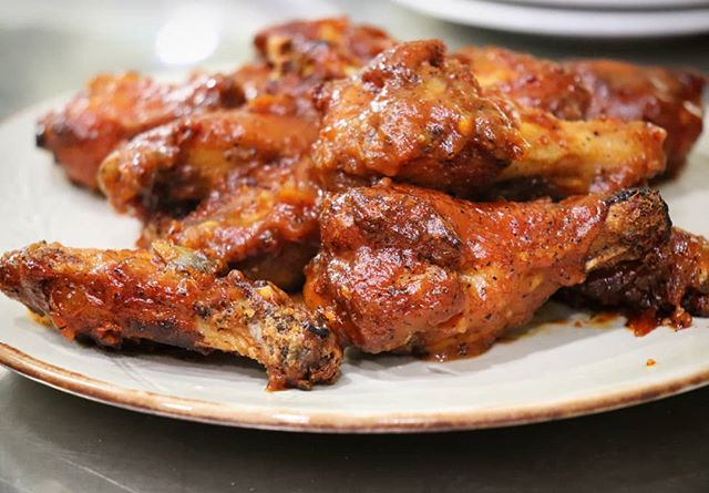 Our BBQ Chicken Wings are perfect to split between friends! They are also available in spicy honey, s&p, hot, and honey garlic.