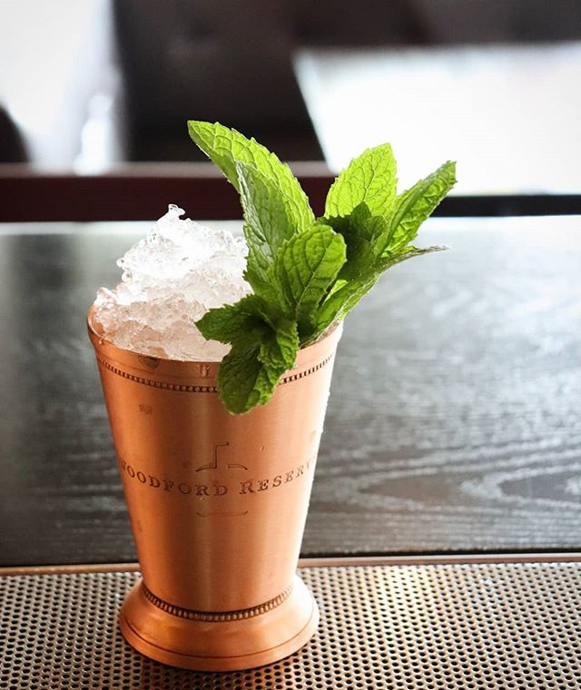 Ready to take your horse to the old town road? We are 🤠 To celebrate the Kentucky Derby we will have the classic Mint Julep as our feature cocktail all weekend long! . . . . 2oz @woodfordreserve 8 Mint Leaves Dash Simple Syrup
