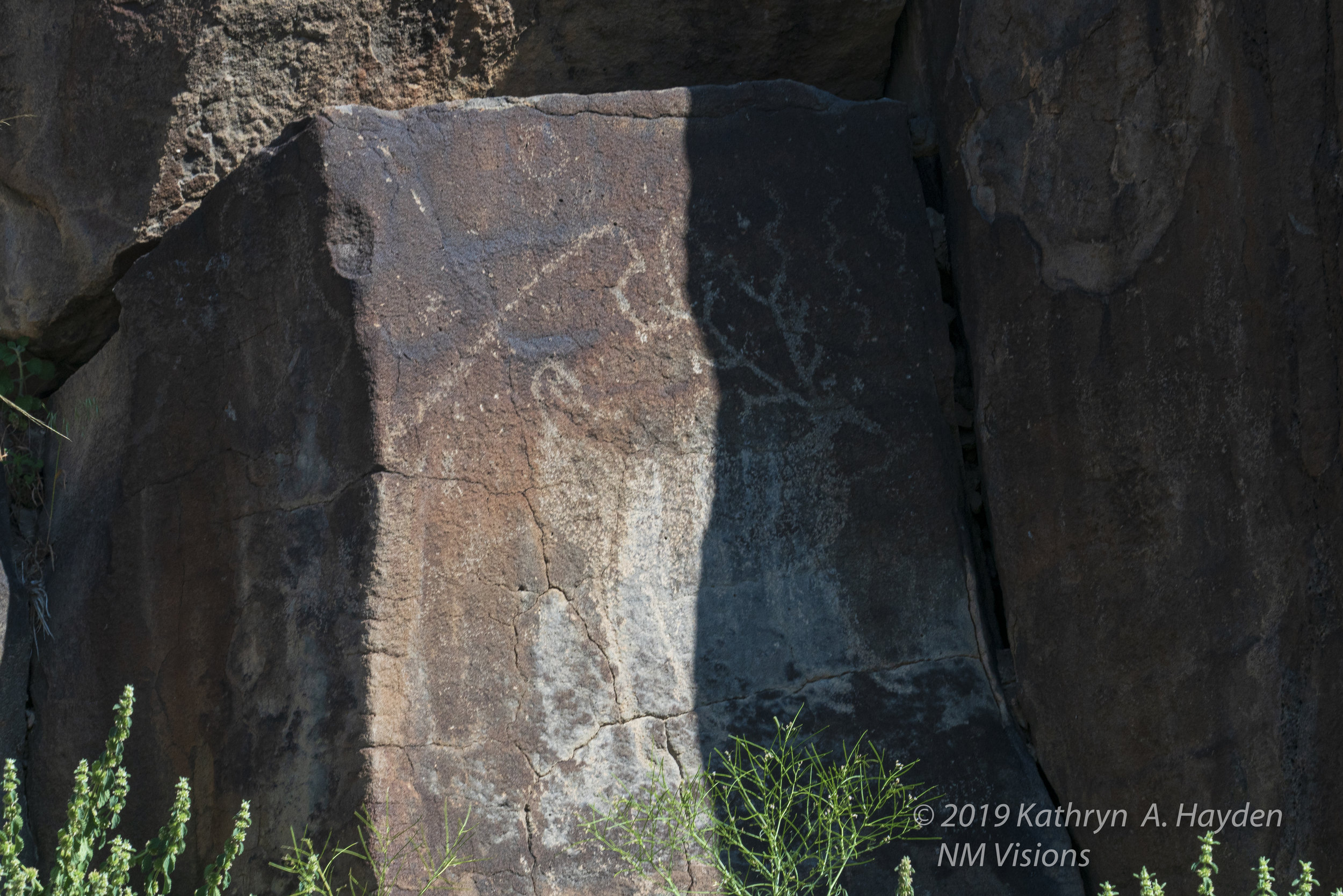 Another petroglyph that the sun will continue to unveil.