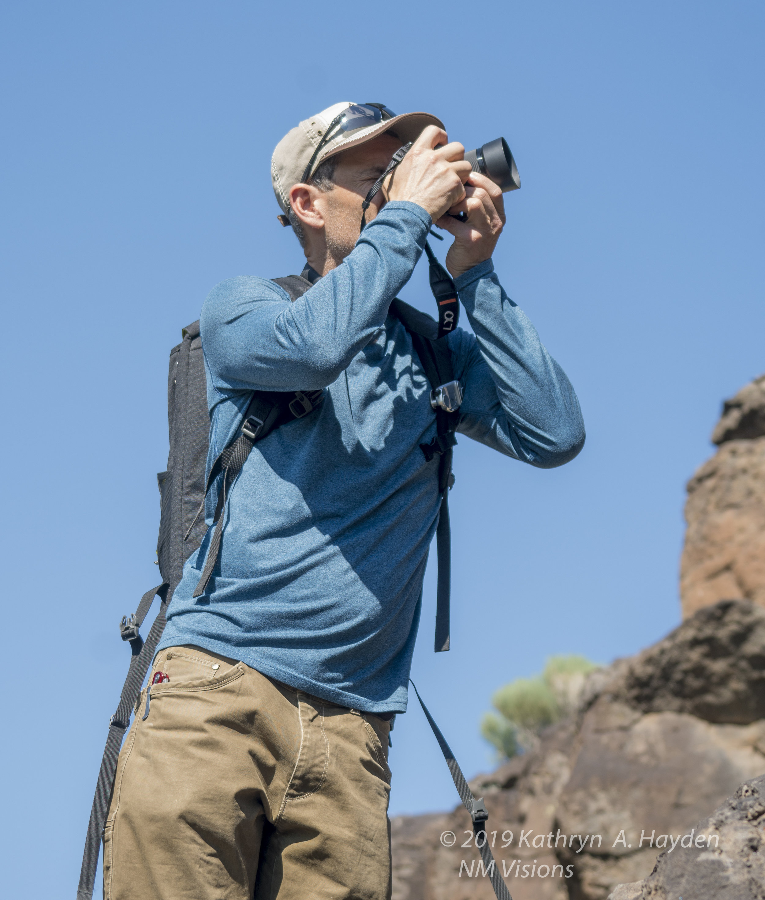 if you trek with a photographer, you tend to see this look often.