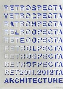 Retrospecta 2011-2012 cover