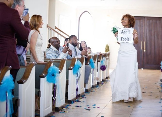 Faux bride