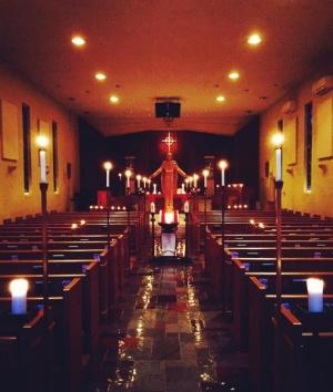 Compline, or Night Prayer, during Lent