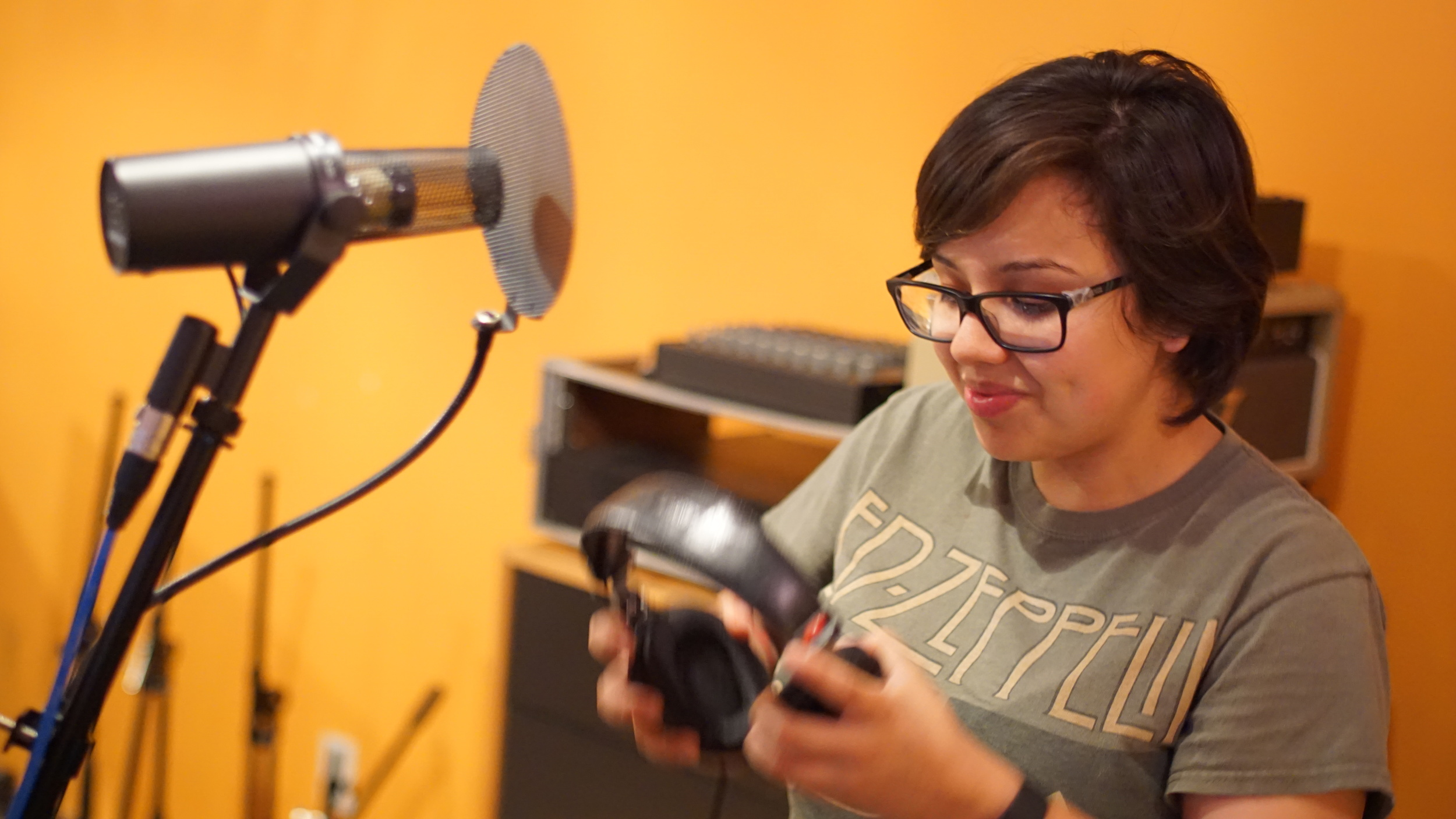 Erica Torres Vocalist in Frequency Within  Photo by Peter Demore