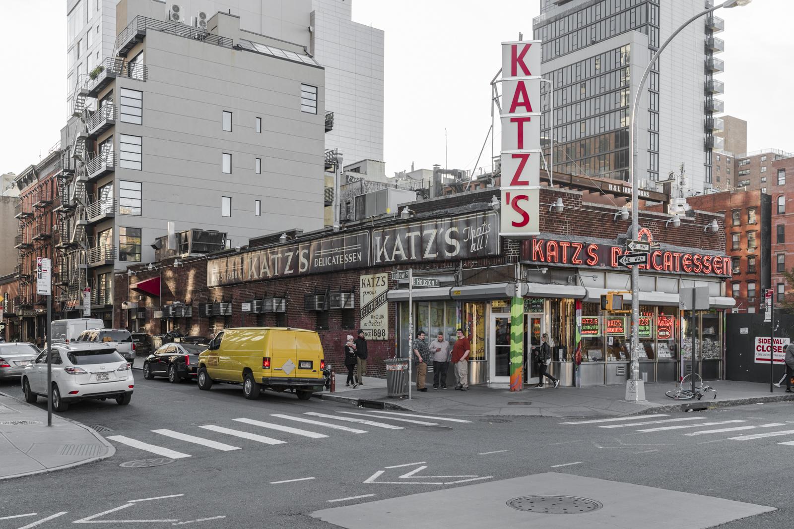 Katz's Deli, East Village NYC