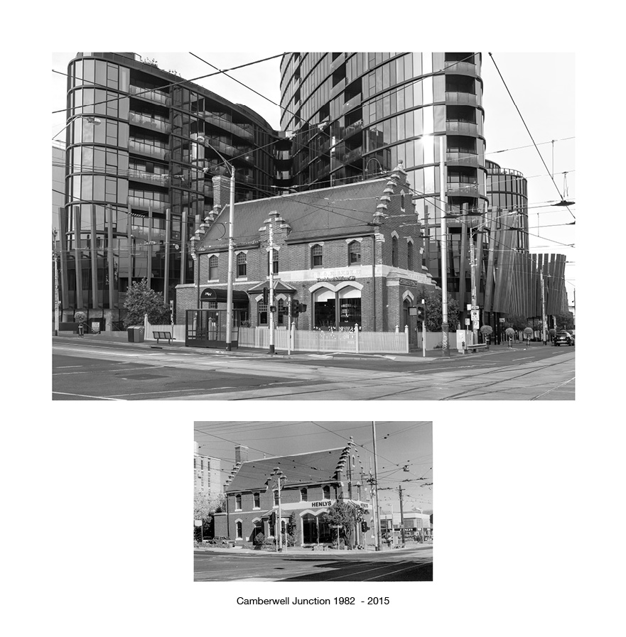 Camberwell Junction 1982 - 2015