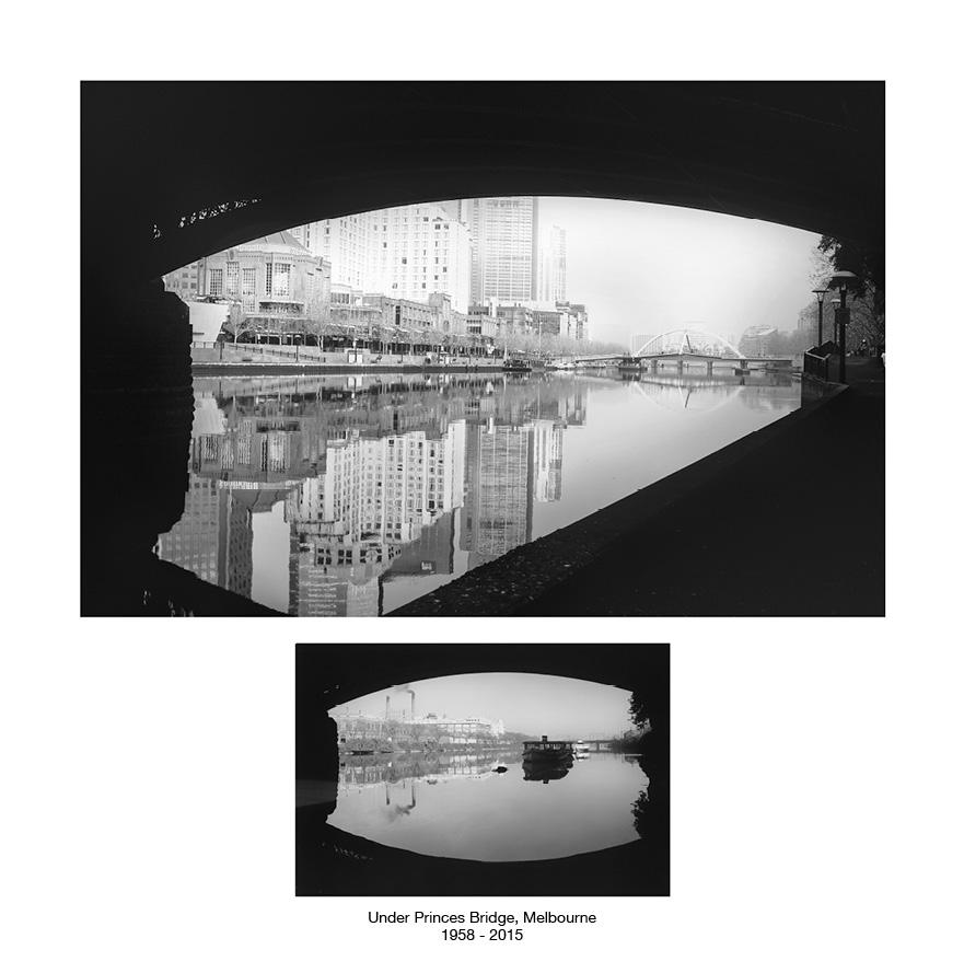 Under Princes Bridge 1958 - 2015