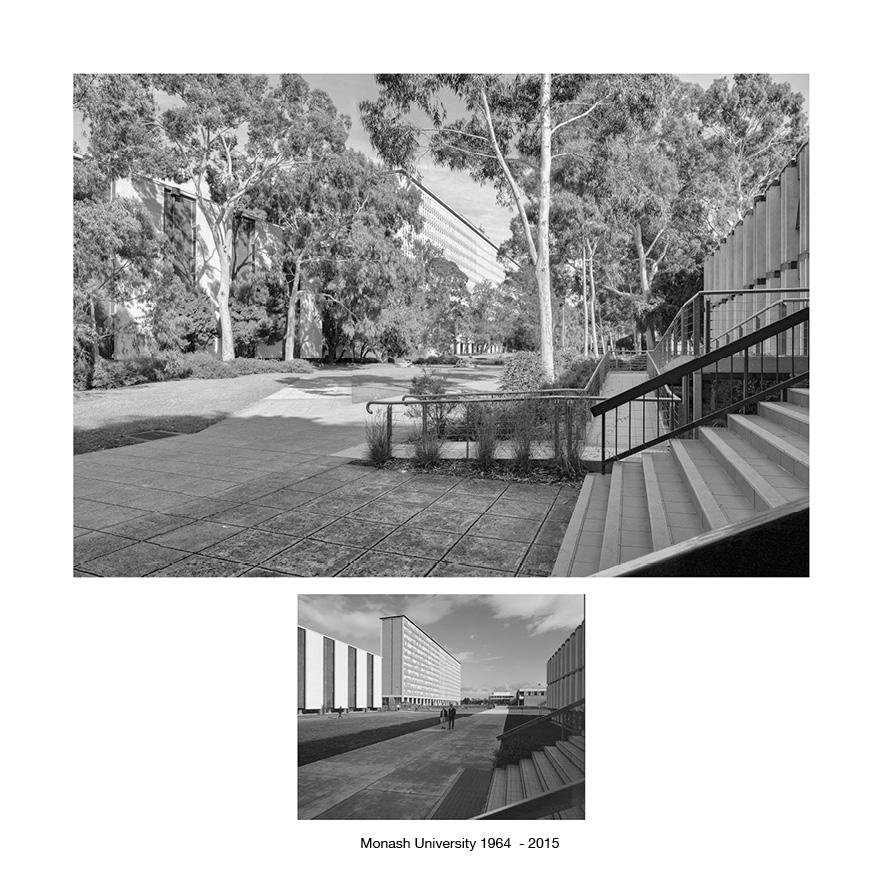 Monash University, Clayton Campus, Melbourne 1964 - 2015