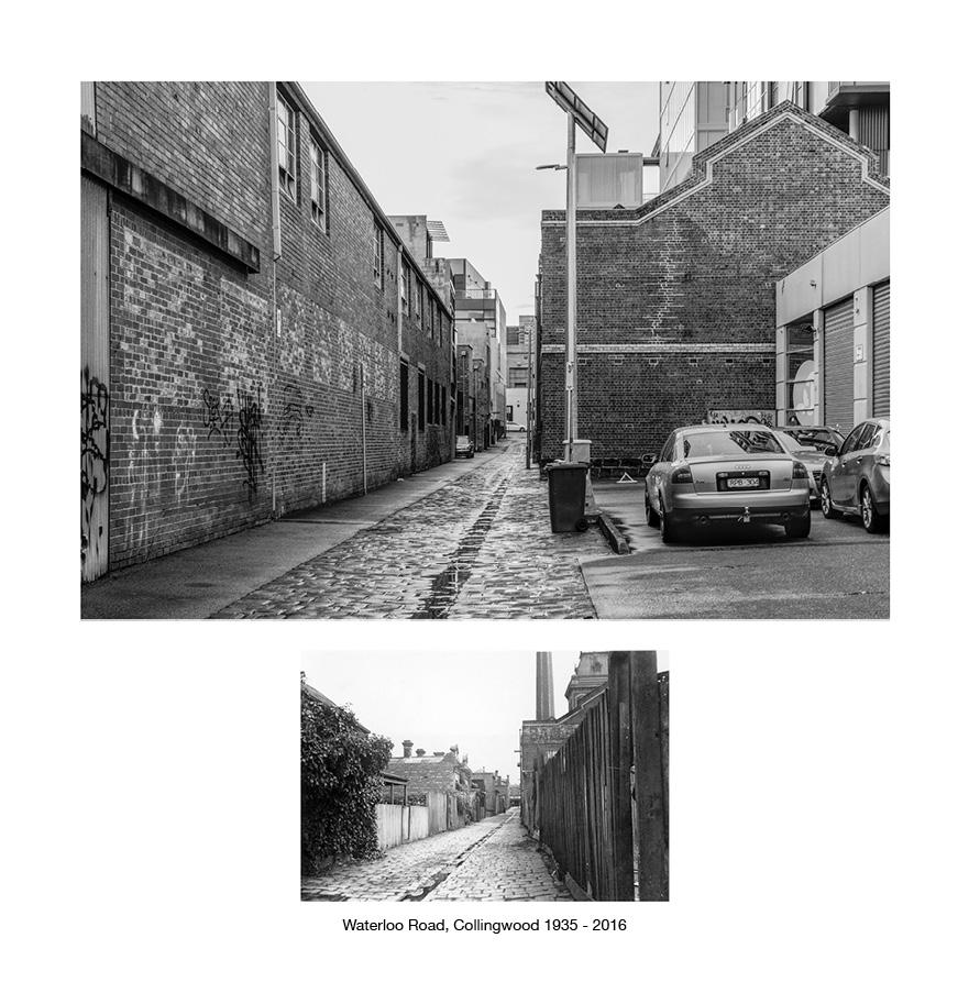 Wellington Road, Collingwood 1935 - 2016