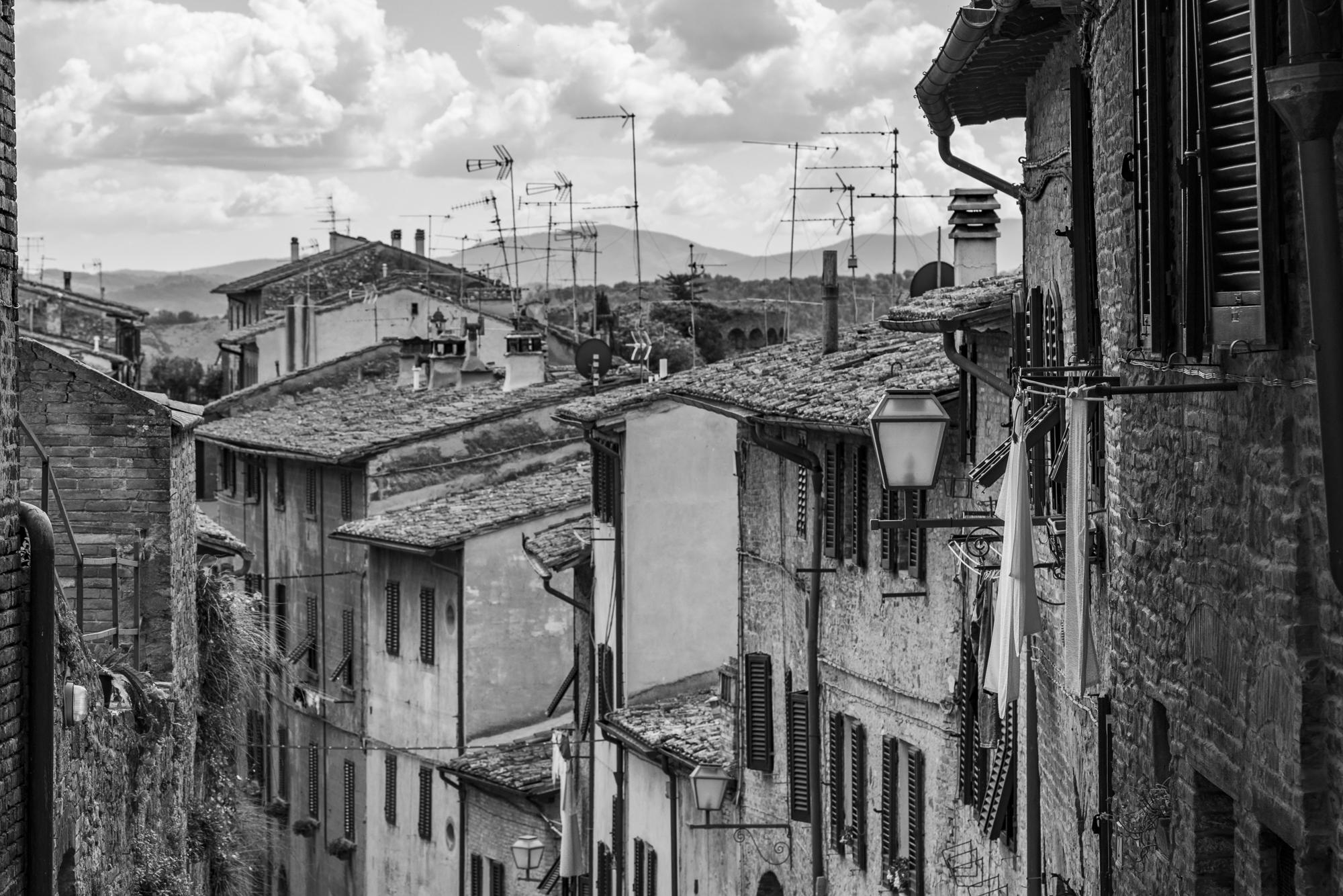 Rooftops, San Gimignano