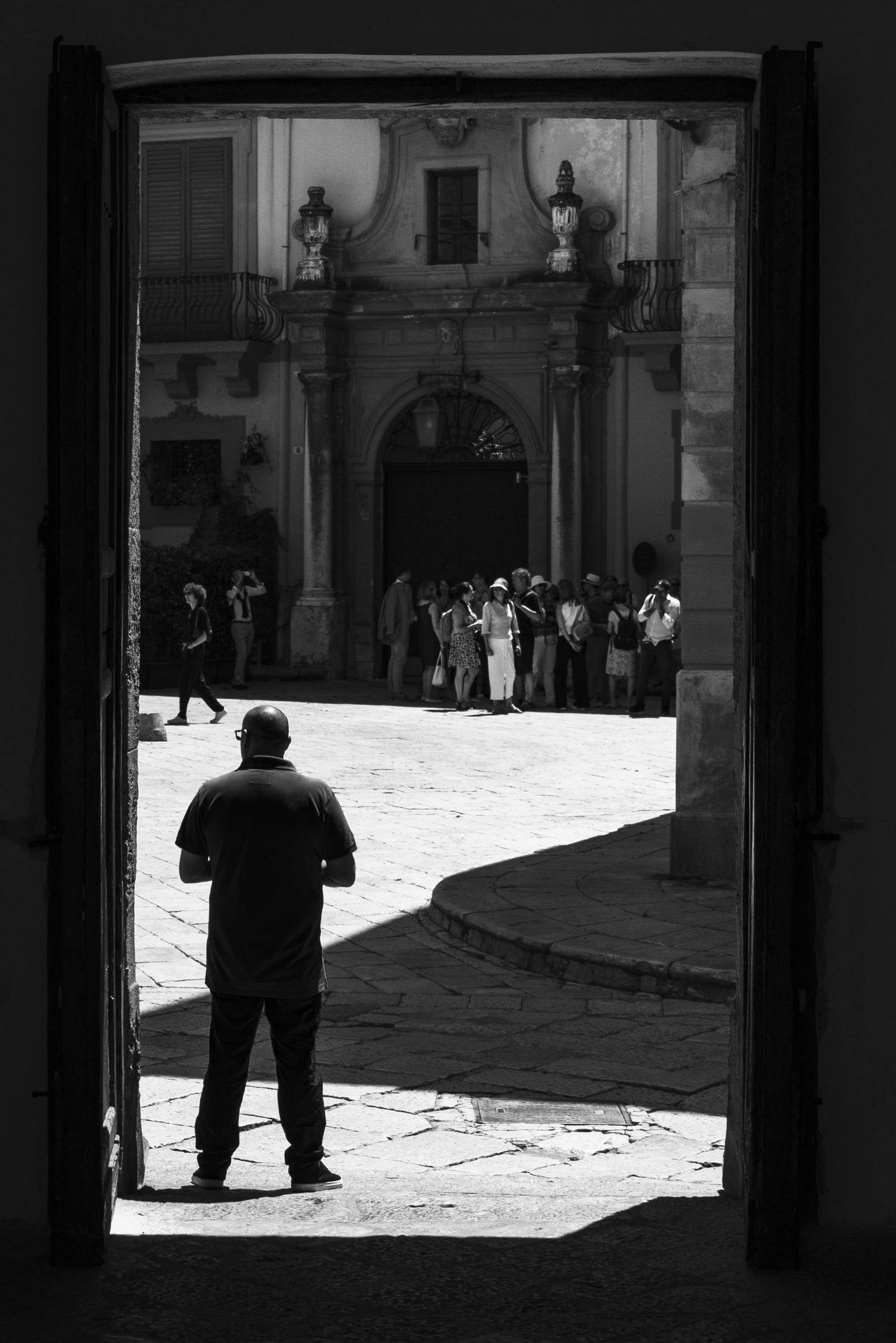 Church entrance, Palermo