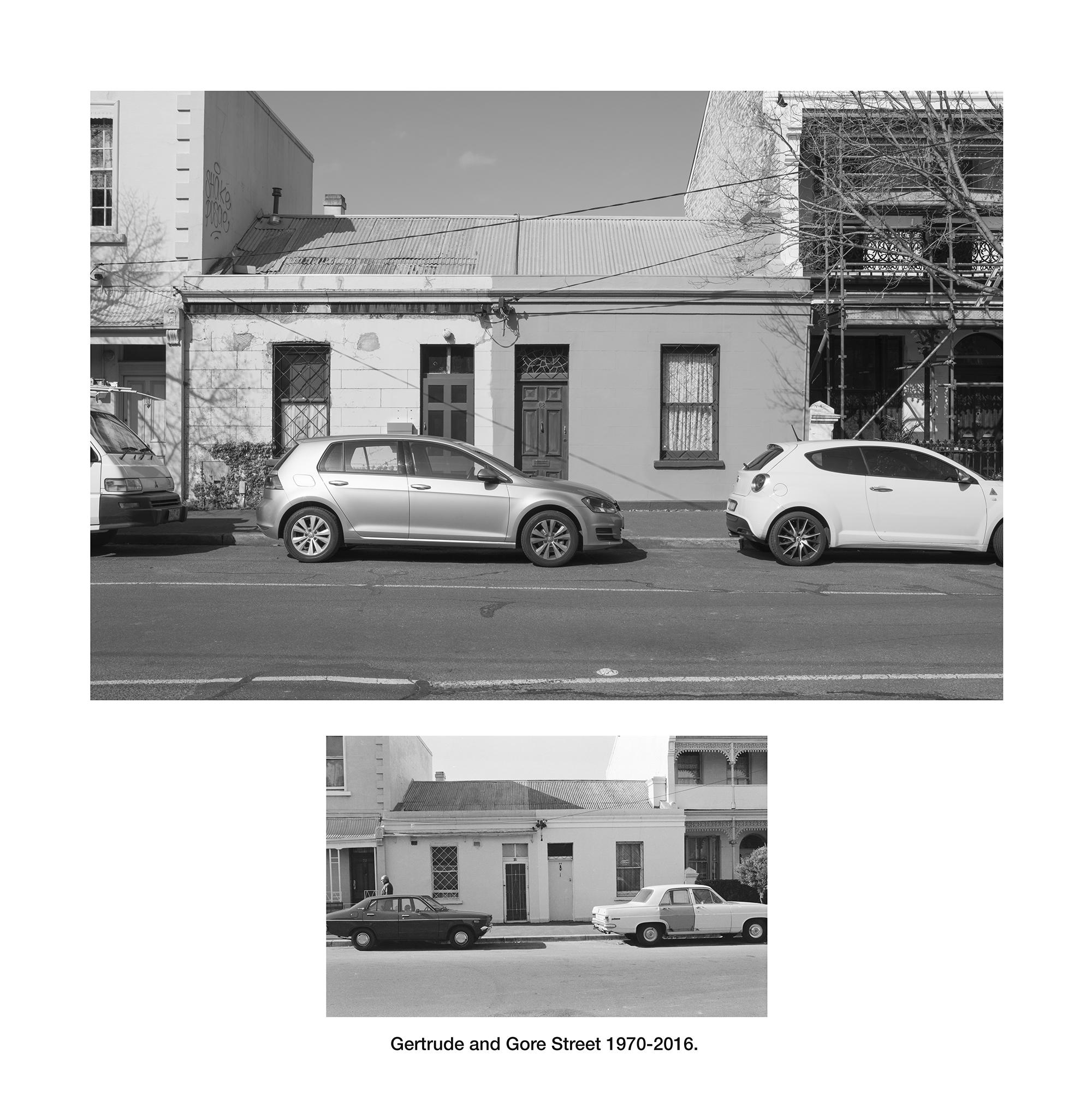 Gertrude Street & Gores Street, Fitzroy 1970 - 2016