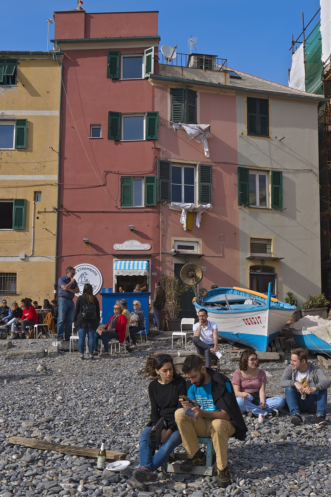 Bar La Strambatta, Genoa