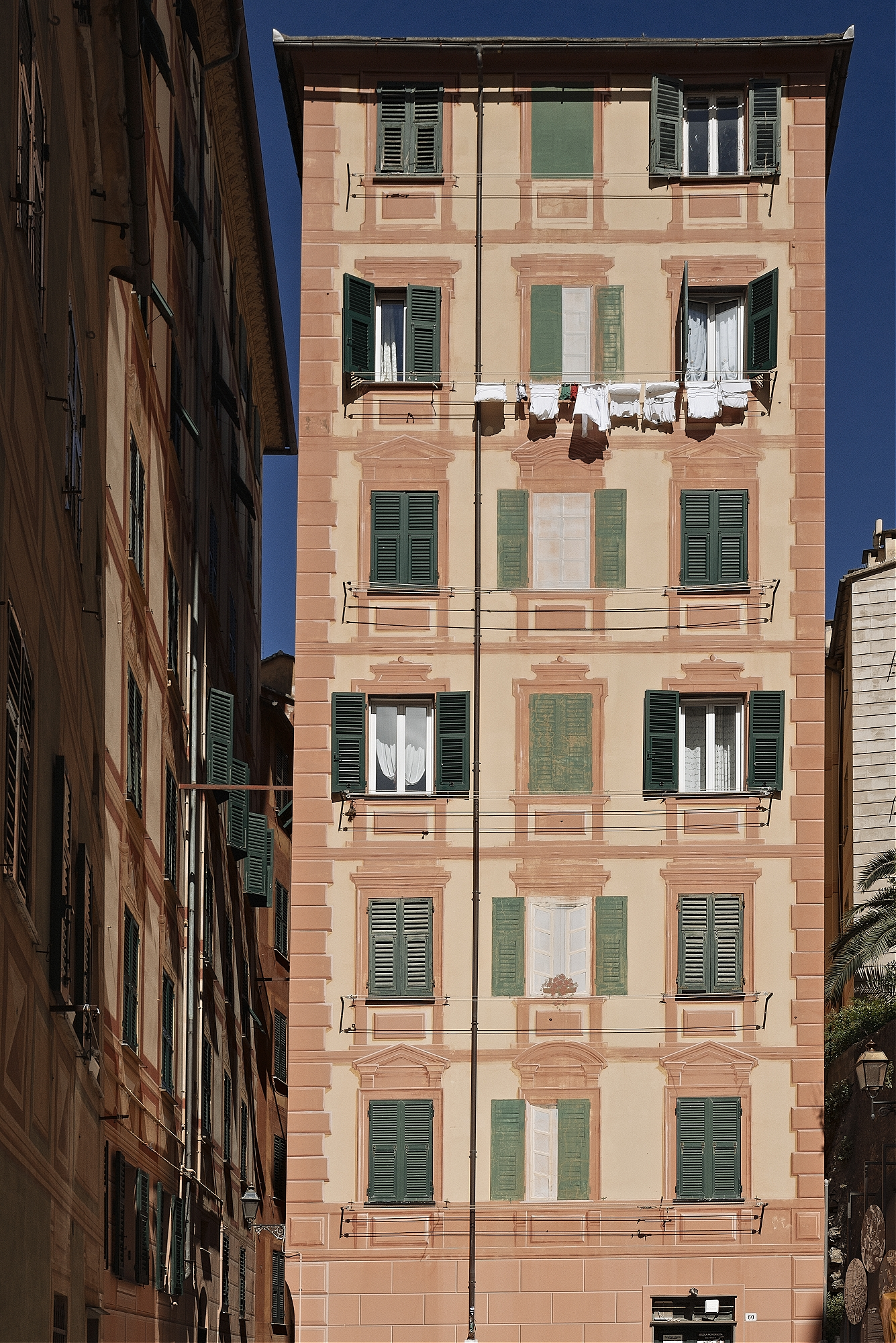 Washing Day. Camogli, Liguria