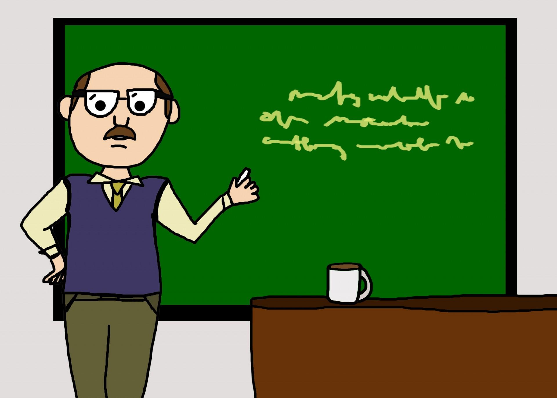 Liberal professor brainwashes students