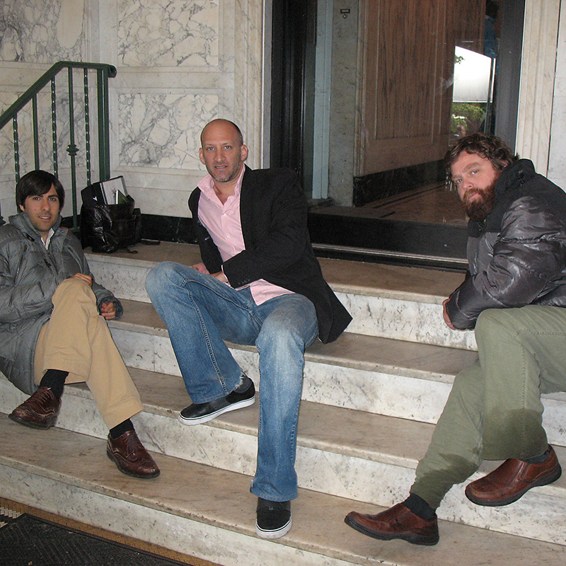 Zach Galifianakis and Jason Schwartzman