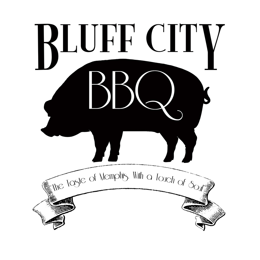 Layout and design created for Bluff City BBQ restaurant client.