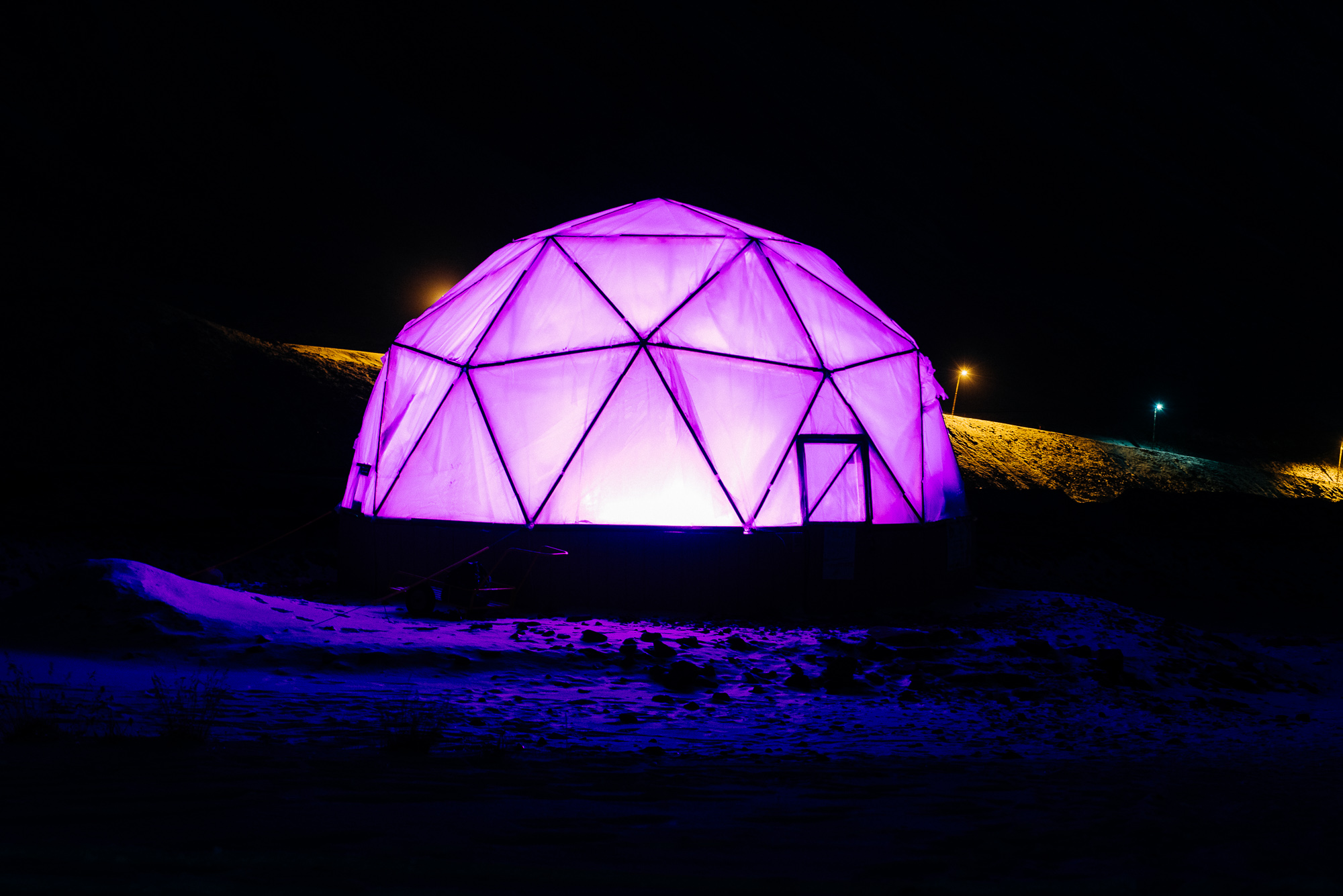 dome polar permaculture