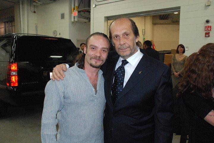 With legendary Paco de Lucia, Boston
