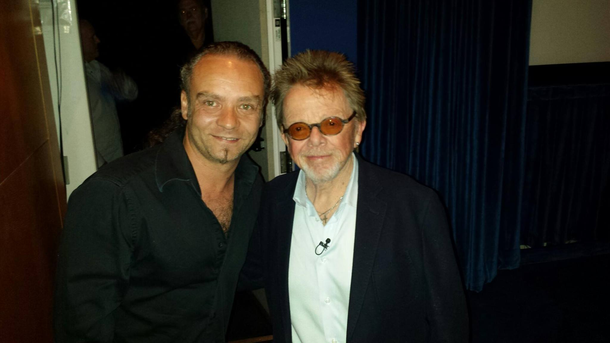 with Paul Williams at the ASCAP event
