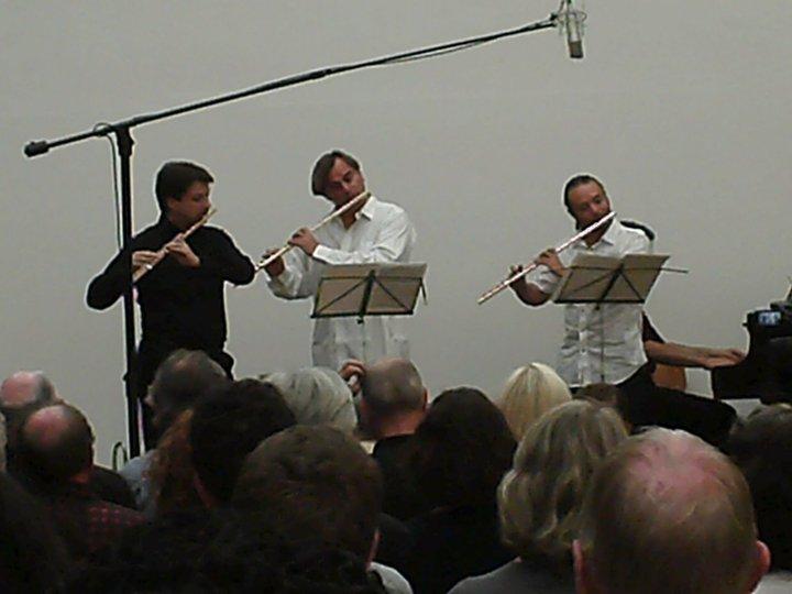 Andrea Olivia, Andrea Greminelli at the concert in Swizterland