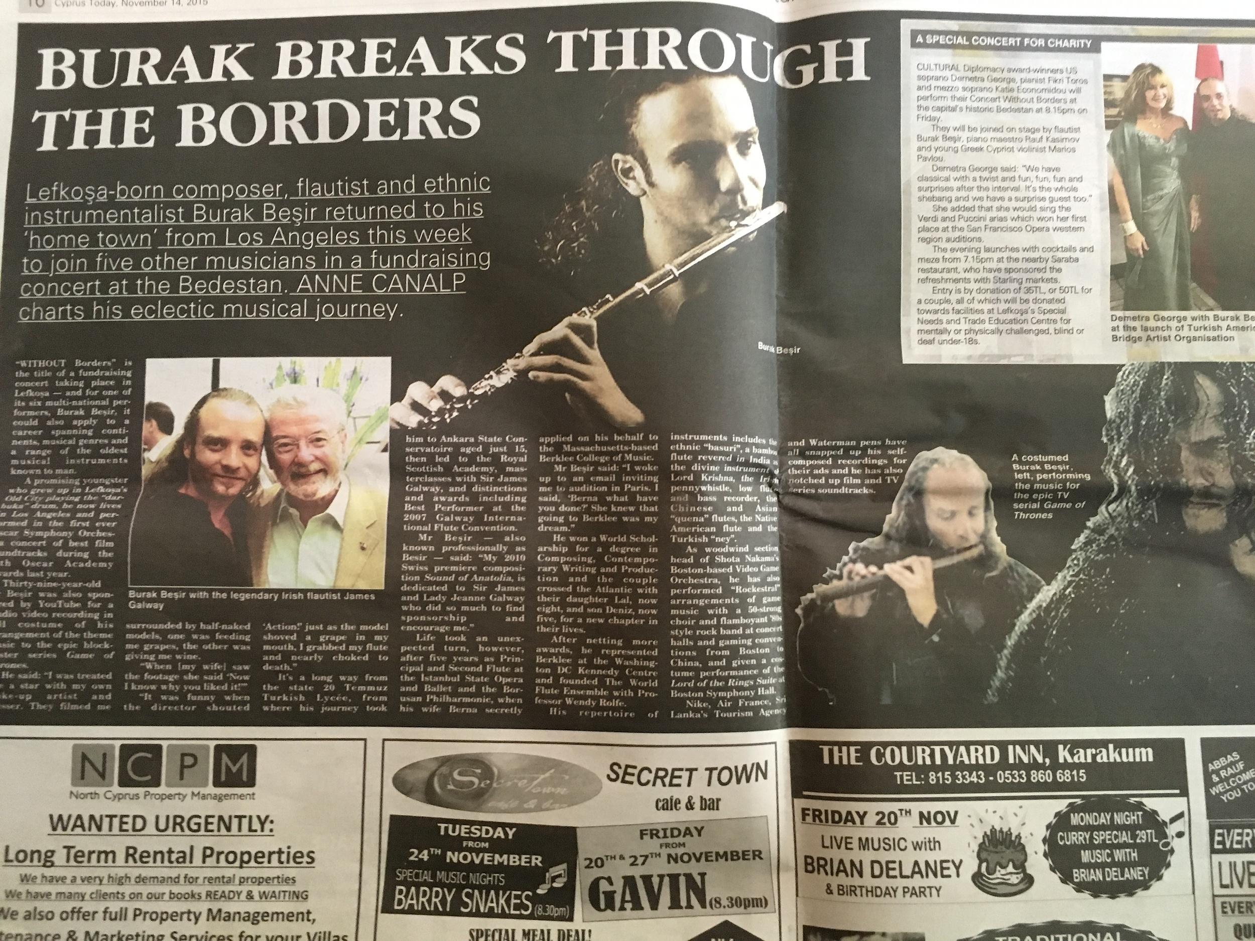 Burak Cyprus newspaper 1.jpg