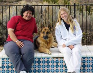 Anna mit Ann Miller und Kommissar Rex