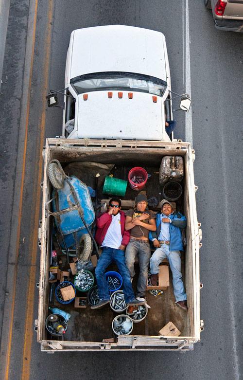 Cartagena carpoolers