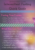 quick guide to intermittent fasting