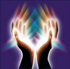 reiki channeling through the hands