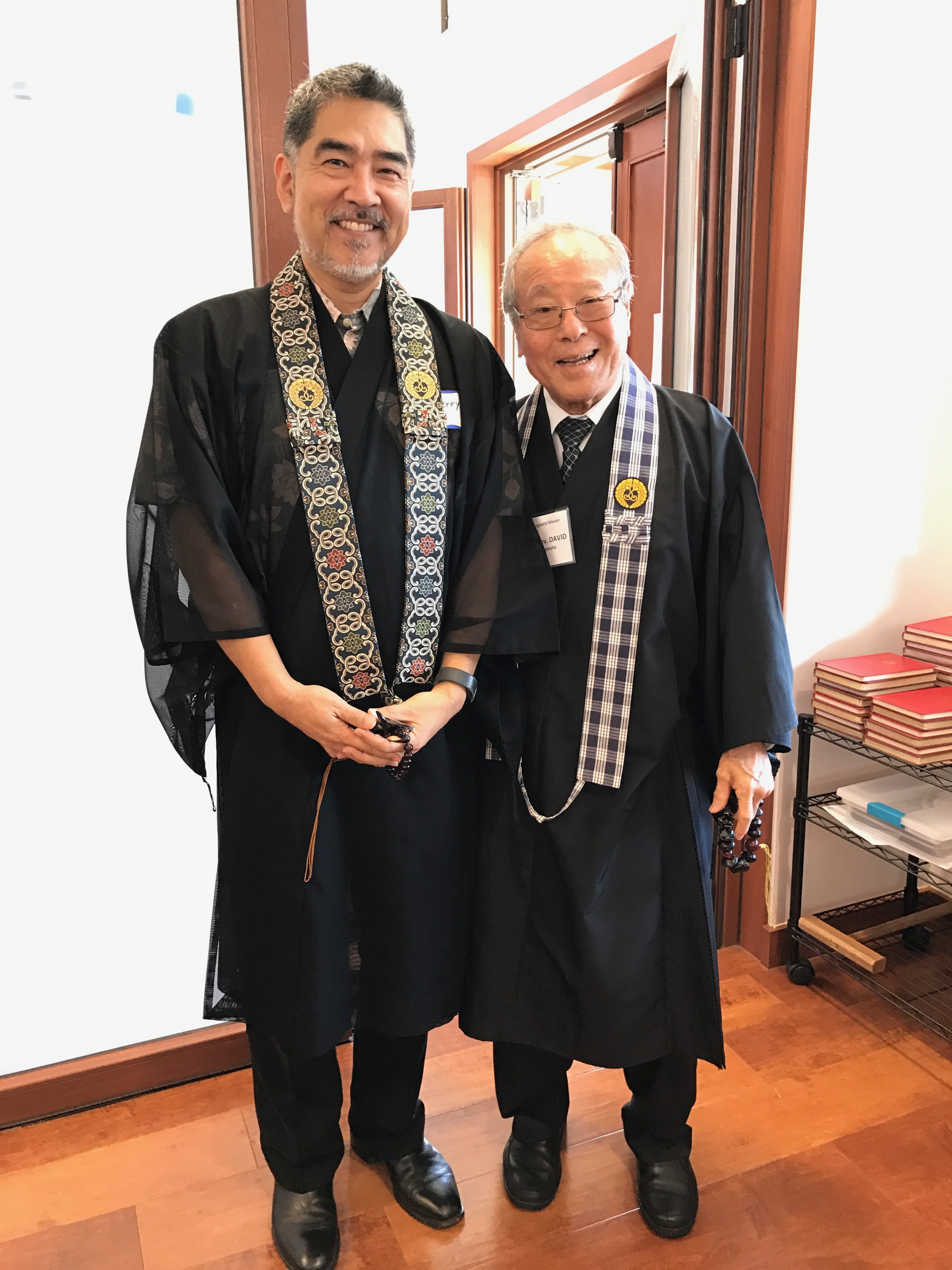 Rev. Kerry Kiyohara and Rev. David Nakamoto