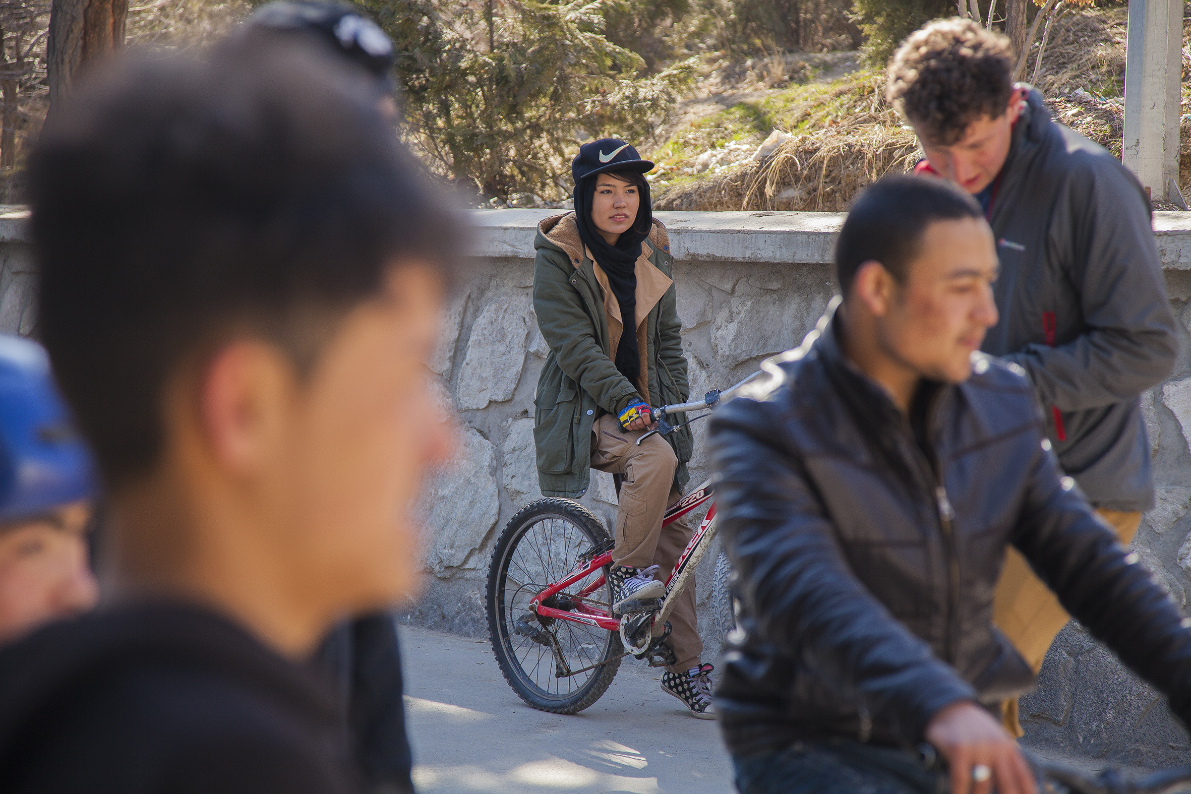 Zahra - one of two female mountain bikers in Afghanistan, quietly stands up for her rights. Even just riding with boys brings security risks to her and her family - but she chooses to accept this and sets an example to others - a true 'shadeshifter'.