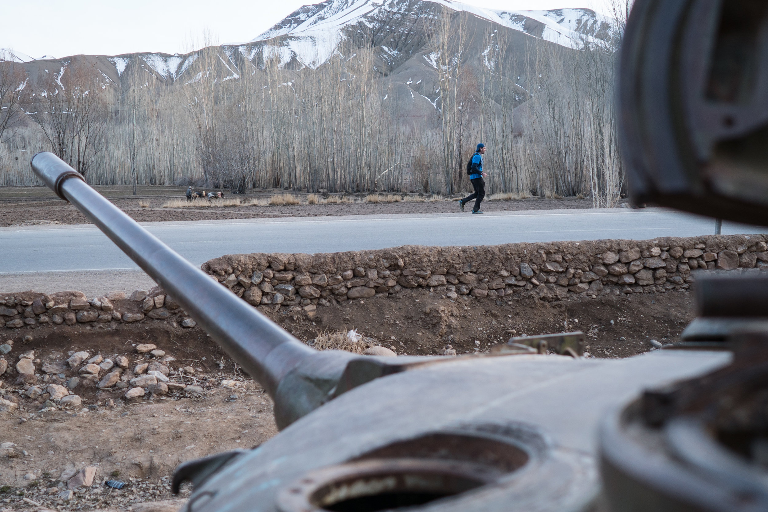 Rusting war machine. Photo by Sandro Gromen-Hayes